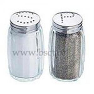 ガラス塩およびコショウ挽きセット