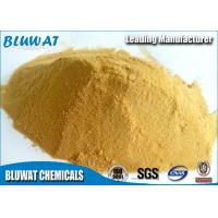 Buy cheap Polymeric Ferric Sulphate for Wastewater Treatment Plant Pale Yellow Powder 19% product