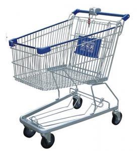 Buy cheap Tipo multifuncional cesta de los E.E.U.U. de los carros de la compra del alambre de compras bloqueada del metal de la moneda from wholesalers