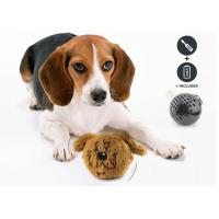 Interactive Shaking Bouncy Plastic Dog Balls Auto Bounce / Squeak For Entertaining for sale