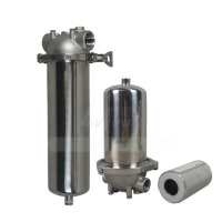 Buy cheap 150psi 100 Microrn  20'' 30'' Industrial Cartridge Filter Housings product