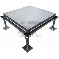 Buy cheap Waterproof Aluminium Portable Raised Floor , Anti - Magnetic Raised Access Flooring product