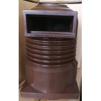 China Trough Type Brown 24kV Epoxy Resin Insulator Contact Box For Circuit Protection on sale