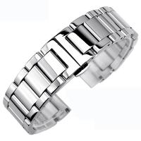 Buy cheap Sliver Chain Strap / Watch Band Replacement For Man Watch Logo Custom product