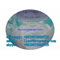 Buy cheap CAS 57-85-2 Testosterone Propionate Male Muscle White Crystalline Powder product