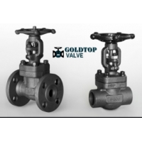 China Api 602 Astm A105 Bw Ends Forged Gate Valve 2 1/2 Inch on sale