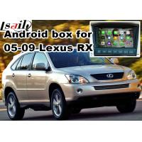 Buy cheap Lexus RX330 RX400h XU30 2005-2009 Android Navigation Box , mirror link video interface 360 panoram product