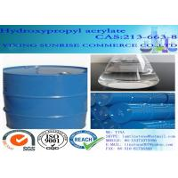 Buy cheap C6H10O3 Chemistry Intermediate Hydroxypropyl Acrylate Colorless Clear Liquid from wholesalers