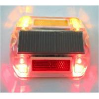 China High powered ultra bright LED road way safety reflector with red light on sale