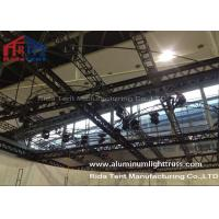 Buy cheap RidaTent Outdoor Stage Light Truss , Aluminium Truss System Heavy Loading Capacity product