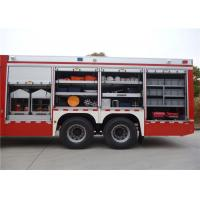 Buy cheap 9920 × 2480 × 3320mm Dimension Fire Equipment Truck product