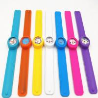 Buy cheap Fashion Personised Silicone Slap Watch Bracelet With Japan Quartz Movement product