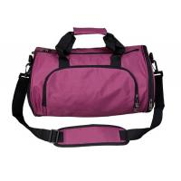 Casual Waterproof  Nylon Duffel Bags , Pink  Women'S Duffel Bag Two Side Pockets