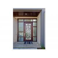 Buy cheap Sidelight Decorative Panel Glass , Architectural Stained Glass Door Panels product
