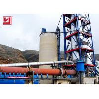 Buy cheap High Availability Rotary Kiln For Cement And Clinker Plant Low Power Consumption product