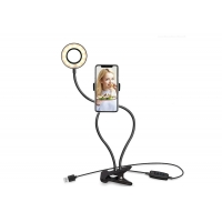 Buy cheap Selfie Ring Light with Clip Stand & Phone Holder, Led Circle Lights For Mobile Phone product