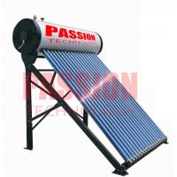 Buy cheap 250L Compact Pressurized Evacuated Tube Integrated Solar Water Heater for Home from wholesalers
