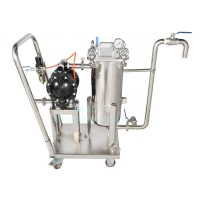 Buy cheap Dual Triple Stages 500 Micron 180*450mm Bag Water Filter Vessel product