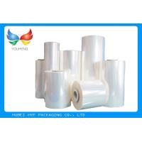 Buy cheap 40 MIC Clear Blown PVC Heat Shrink Film Rolls For Thermo shrinking / Sleeve / Labels product