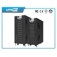 Buy cheap Black Three Phase LCD UPS Uninterruptible Power Supply For Telecom product