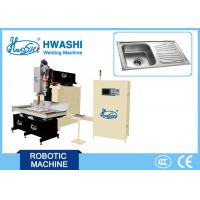 China Stainless Steel/ Kitchen &  Hotel Double Bowl Sink Automatic Welding Machine, Sink Seam Welding Equipment on sale