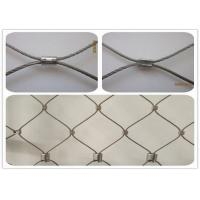 Buy cheap High Durability Stainless Steel Architectural Mesh For Balcony / Car Park Protection product