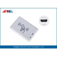 Buy cheap Compact NFC RFID Reader Desktop Square NFC Reader Integrated Key Handling from wholesalers