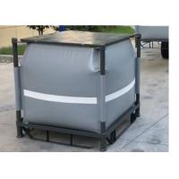 Buy cheap Grey Recycled PVC Liquid Jumbo Bag Stainless Steel Pallet Available 1 Ton / 1000L product