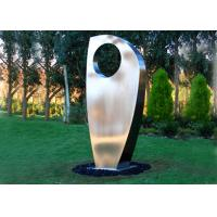 Buy cheap Contemporary Metal Yard Art Stainless Steel Sculpture For Garden Decoration product