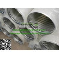 China stainless steel screen Pipe Solid-liquid separation water well screen on sale