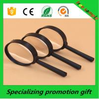 Buy cheap Non Toxic Promotional Stationery Plastic Magnifying Glass For Office product