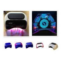 China IR Sensor 48W UV LED Nail Lamp Uv Led Nail Dryer CCFL Red Rose Red wholesale