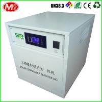 China Lifepo4 Lithium Ion Batteries Solar Energy Storage Solar Controller Inverter All In One on sale