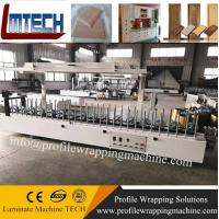 Buy cheap wooden Picture Frame profile wrapping machine with good quality from wholesalers