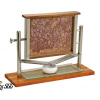 Buy cheap Creative Wooden Honeycomb Display Station Catering Buffet Displays / buffet plate stand from wholesalers