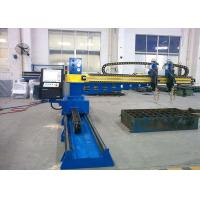 Buy cheap CNC3-2000X3000 Plasma Steel Cutting Machines Double Gas Torches For High Carbon Steel product