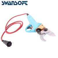 Buy cheap Swansoft 3.0CM Electric Bypass Pruner 36V li-ion battery electric garden pruning shear for vineyards and orchards product