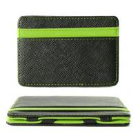 Buy cheap Unisex RFID Blocking Leather Wallet , Slim Two Tone Magic Bifold Wallet product
