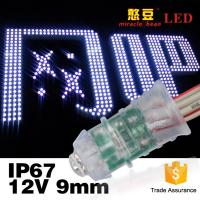 Buy cheap Led Exposed Light Inventor Waterproof IP67 F5 0.12W Single Color DC12V Led Pixel Light 9mm product
