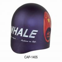 China Multi Color Silicone Swimming Caps,  2 layers coated swim cap with 100% Silicone Custom Swim Caps on sale