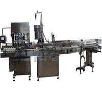 Buy cheap Automatic cup packing machine with moist tobacco filling, capping and labeling machine product