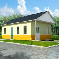 Buy cheap Corrosion Resistance Two Bedroom Modular Homes Prefab Wooden House South Africa product