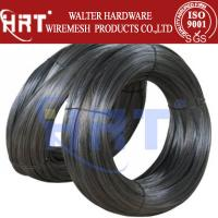 Buy cheap (8#--22#) Black iron wire low price product