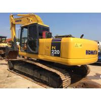 Buy cheap Used original good working condition Komatsu PC220LC-7 excavator secondhand from wholesalers