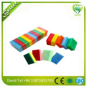 Buy cheap colorful sponge pad,sponge scouring pad,sponge scourer/Good quality sponge scourer product