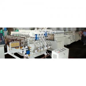 Chaîne de production de feuille de cavité de pp