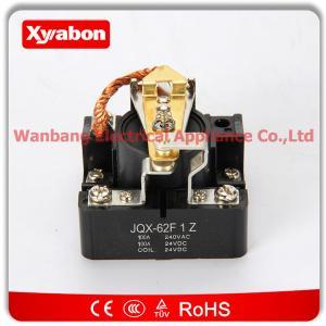Buy cheap Retransmisión del poder de DC 24V 100A SPDT Electronmagnetic del voltaje de la bobina de JQX-62F-1Z product