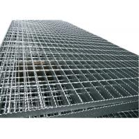 Welded Stainless Steel Open Grid Flooring , Heavy Duty Metal Grate Platform