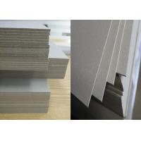 Buy cheap 1550gsm / 2.55mm laminated grey Strawboard Paper for hard book cover product