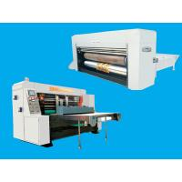 Buy cheap Die Cutting Corrugated Cardboard Box Making Machine Pneumatic With Stacker product